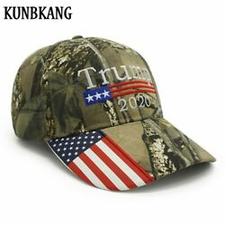 New Donald Trump 2020 Cap Camouflage Usa Flag Baseball Caps Maintain America ...