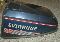 Evinrude 8hp Cowl - Late 80and039s Vintage
