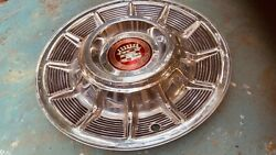 One 1957 Cadillac Hubcap Unmolested, Show Quality Hubcap And Center Emblem.