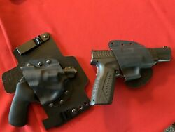 Iwb Leather And Kydex Holsters For Ruger Lcr And Springfield Xdm 24077 Texas Made