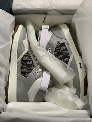 Christian Dior Oblique Jacquard High Top Sneakers