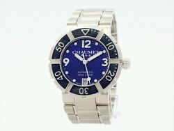 Chaumet Class One Automatic Steel Blue Dial Ref.626