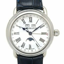Aerowatch Triple Calendar Moon Phase 75970 Automatic Winding Menand039s Watch