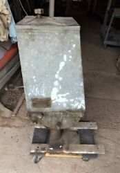 Antique Vintage Flint And Walling Hoosier Water Services Windmill Water Pump