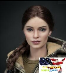 1/6 Russian Female Soldier Head Sculpt For Phicen 12 Figure Hot Toys ❶usa❶