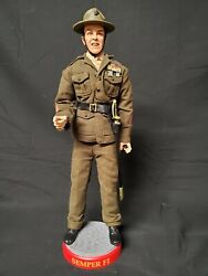 Sideshow Collectibles Talking 12 Marine Gunnery Sgt. R. Lee Ermey 2001