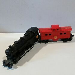Shell Gas Toy Train Engine And Caboose Die Cast Vintage