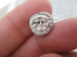 Authentic Ancient Greek Coin Thrace, Apollonia Pontika450-400bcdrachm-3.25g