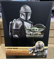 Hot Toys The Mandalorian And Child Deluxe Star Wars Tms015 Mib Sideshow 905873