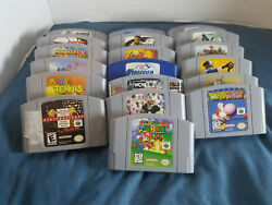 Nintendo 64 N64 Authentic Game Lot Pick And Choose Buy 3 Get 4th 50 Off