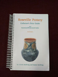 Roseville Pottery Collector's Price Guide Tenth Ed. Spiral Mollring, Gloria