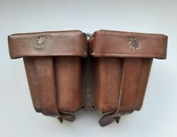 Leather Mosin Pouch Pre-war 1941 Year, Perfect Condition.