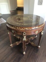 Antique Round Accent Table - Make An Offer