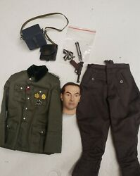 16 Wwii German Early War Sr. Medical Officerand039s Uniform And Head