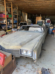 1972 Cadillac Eldorado Convertible Rust Free Body And Frame Parts Or Project