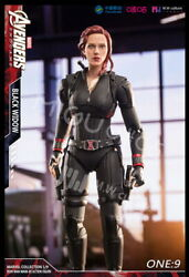 Migu Mpc200803 1/9 Avengers Black Widow Action Figure Model Doll Toy