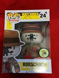 Funko Pop Movies 24 - Bloody Rorschach Exclusive Sdcc 2013 And Protector