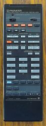 Pioneer Projection Monitor Receiver Remote Control CU SD031 AX1159 Tested