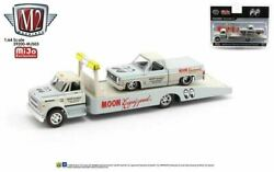 M2 Auto Haulers Mjs03 Moon And03968 Chevy C60 And And03978 Chevy Silverado