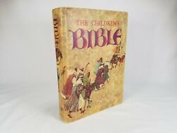 The Childrens Bible Book Vintage Golden Press 1974 Hardcover Illustrated Stories