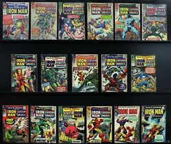 Tales Of Suspense 56, 73, 74, 76-78, 79, 81, 83, 85-87, 89, 90, 95, 97 G To Vg