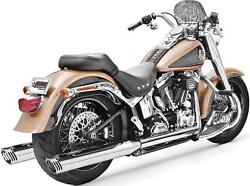Freedom Performance Hd00200 Racing Dual Exhaust System - Chrome