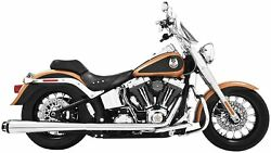Freedom Performance Hd00292 American Outlaw Dual Exhaust System - Chrome Body W