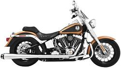 Freedom Performance Hd00798 American Outlaw Dual Exhaust System - Chrome Body W