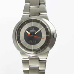 Omega Dynamic Automatic 165.039 One Piece Case Vintage Watch 1950and039s