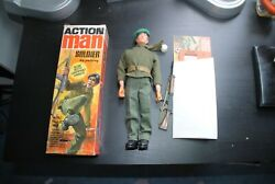 Action Man Palitoy Gi Joe 1973  Gripping Hands Soldier 1 Figure Boxed