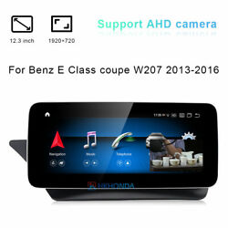 Android Gps Car Stereo 12.3 Inch For Mercedes Benz E Class Coupe W207 2013-2016