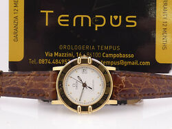 Omega Constellation Lady 18 Kt Gold Years And03990 Watch
