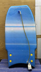 Vintage Morey Mach 10 Boogie Board 1980and039s W/leash And Graphite Wingers