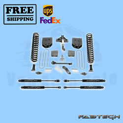 6 Basic System W/ Stealth Shocks Fabtech For Ford F350 4wd 2008-16