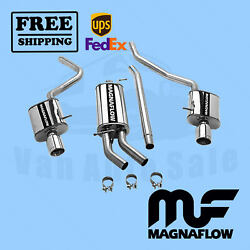 Exhaust - System Kit Magnaflow Fits Audi A4 02-05 High Quality Best Power