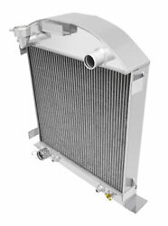 1928-1929 Ford Model A Radiator For Ford Motor V8 3 Row Champion