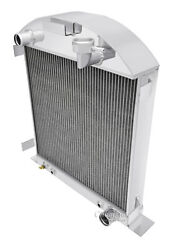 1928-1929 Ford Model A Radiator For Chevy Motor V8 Conversion 3 Row