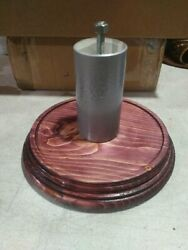 Custom Wood Parking Meter Table Top Stand In Cherry... Duncan, Pom, Rockwell ,
