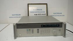 Hp Agilent 83712a 10 Mhz - 20 Ghz Synthesized Cw Generator Opt. 1e8