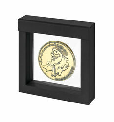Lindner 4839 Nimbus 100 Floating Frame 3d 3 15/16x3 15/16in For Coins And Medals