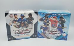 2020 Topps Chrome And Chrome Update Series Sapphire Edition Mlb Sealed Boxes 2