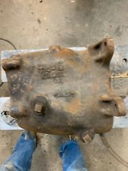 Early Vintage T-10 Transmission Case Cast Iron 4 Speed