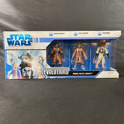 Star Wars Evolutions Rebel Pilot Legacy Collection New Ten Numb Wes Janson Bold