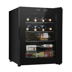 Zokop 16 Bottle Champagne Wine Cellar For Red White 41℉-64℉ Digital Temperature