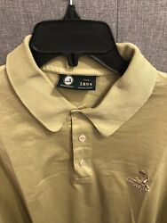 Pinehurst The 1895 Collection Mens Large Golf Polo L Green