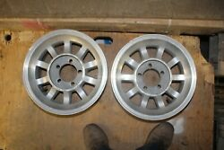 Western Bullet Mag Wheels 14x7 Chevy, Ford, Mopar 5 On 4-1/2 And 4 3/4