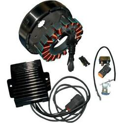 Cycle Electric Ce-84t-10 80 Series 50 Amp 3-phase Alternator Kit For Models Wit