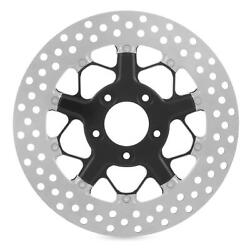Rsd 01331802hutsbm Hutch 11.8in. Two-piece Brake Rotor - Contrast Cut Ops