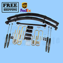 Zone 4 Lift Kit For Ford F250/f350 3.1.1999-12.31.1999 4wd Gas/diesel