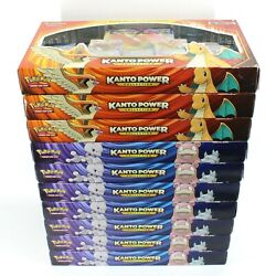 Lot Of 10 Pokemon Tcg Xy Evolutions Kanto Power Boxes Booster Packs New/sealed